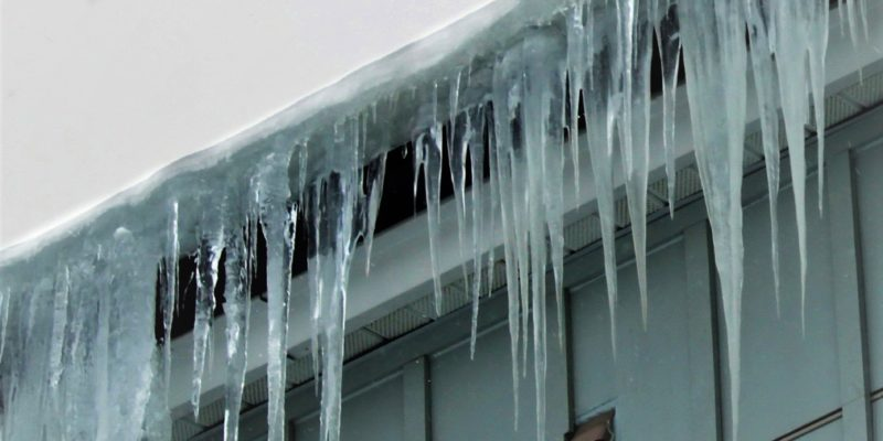 icicles eaves and gutters